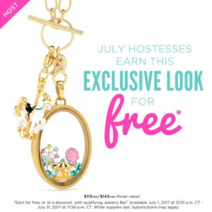 Origami Owl Jewelry Bar – The July 2017 Exclusives!