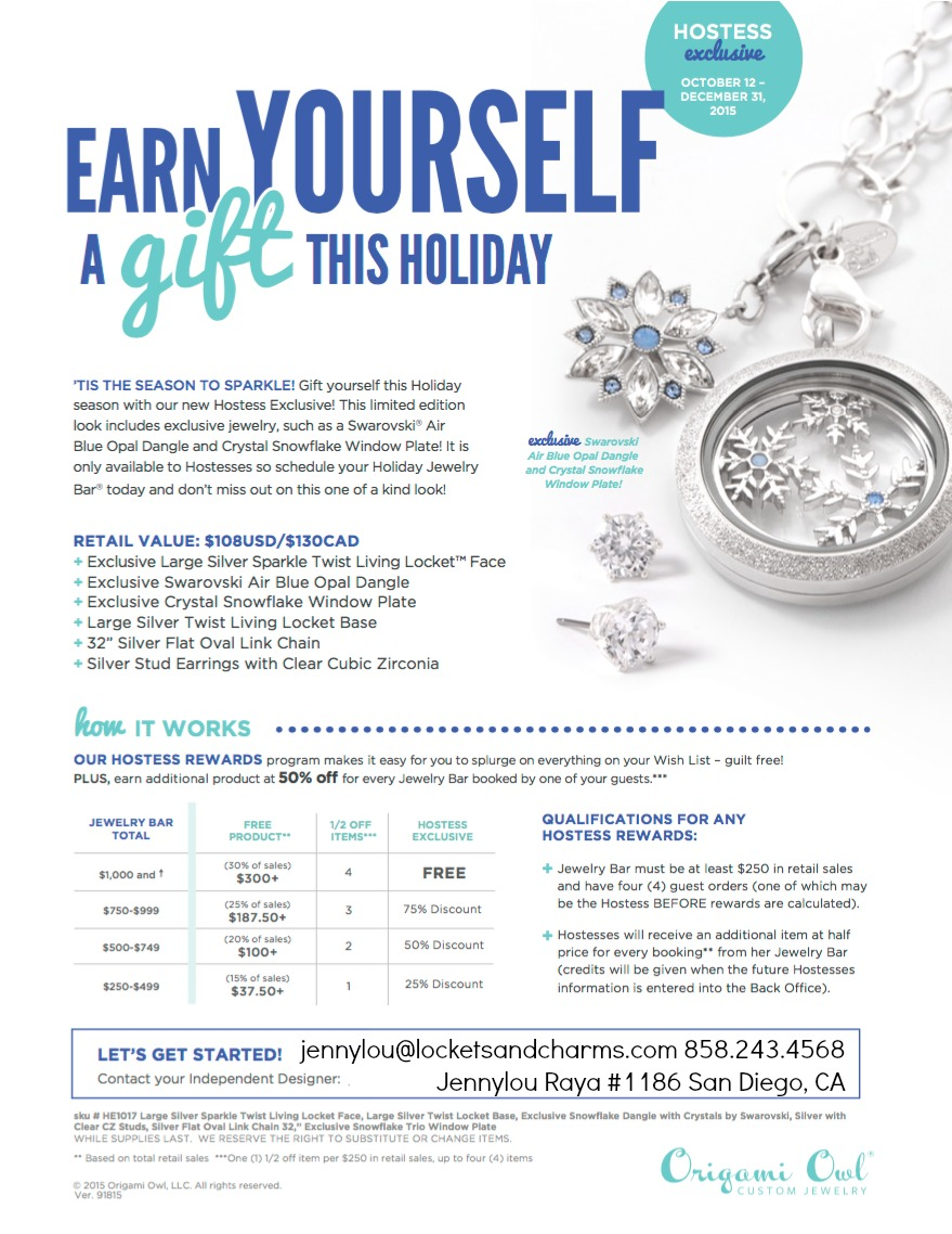 Origami Owl Hostess Exclusive Frozen Locket Locketsandcharms.com