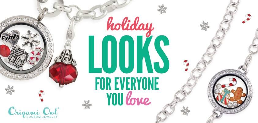 holiday locket charms by origami owl is here � origami