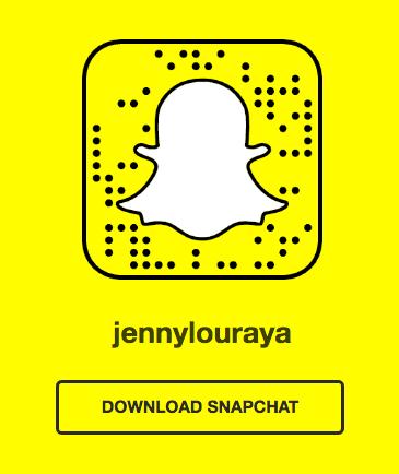 JennylouRaya Snapchat