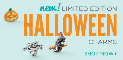Limited Edition Halloween Charms 2015