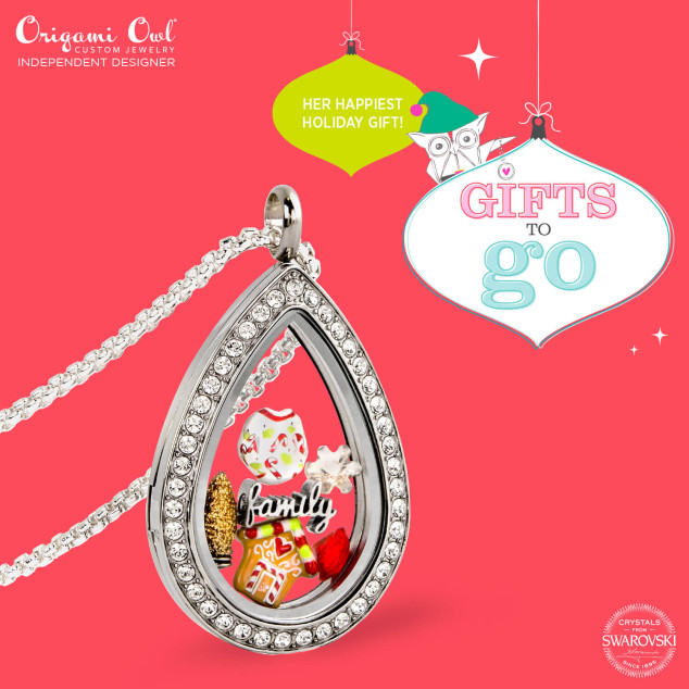 A Christmas Story Gifts to Go Origami Owl Teardrop Locket