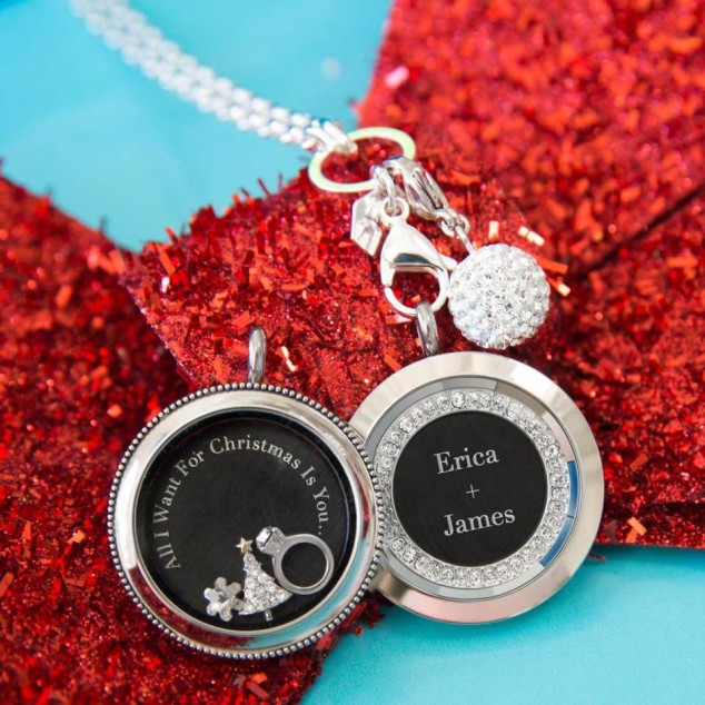 Origami Owl Christmas Locket All I Want for Christmas