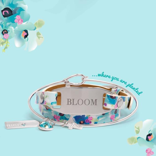 Origami Owl Spring 2016 Floral Wrap Bracelet