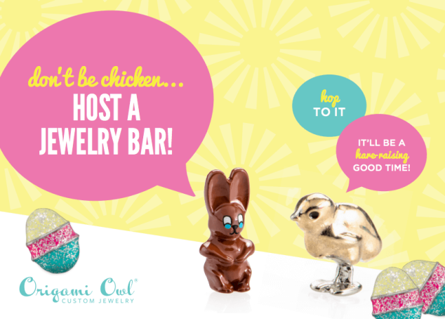 Host an Easter Jewelry Bar