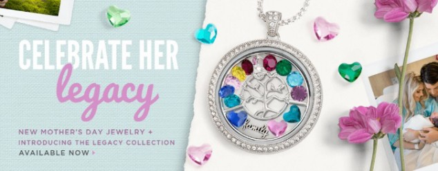 Origami Owl Mother's Day Legacy Locket 675