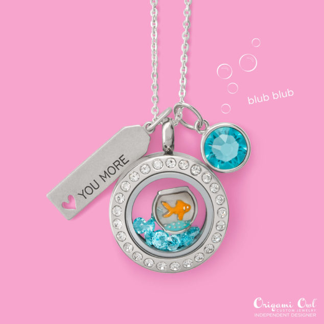 Goldfish Bowl Origami Owl Summer 2016
