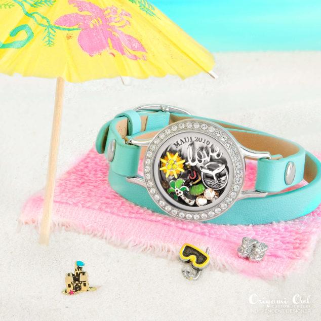 Maui Hawaii Origami Owl Summer 2016 Bracelet