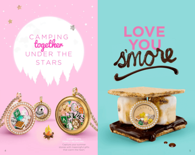 Origami Owl Camping Lockets