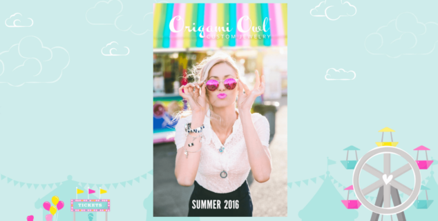 Origami Owl Summer Catalog 2016 Page