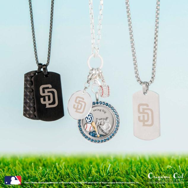 San Diego Padres Baseball Jewelry
