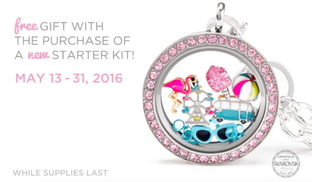 Summer Fun Sign Up Bonus Origami Owl Spring Summer 2016