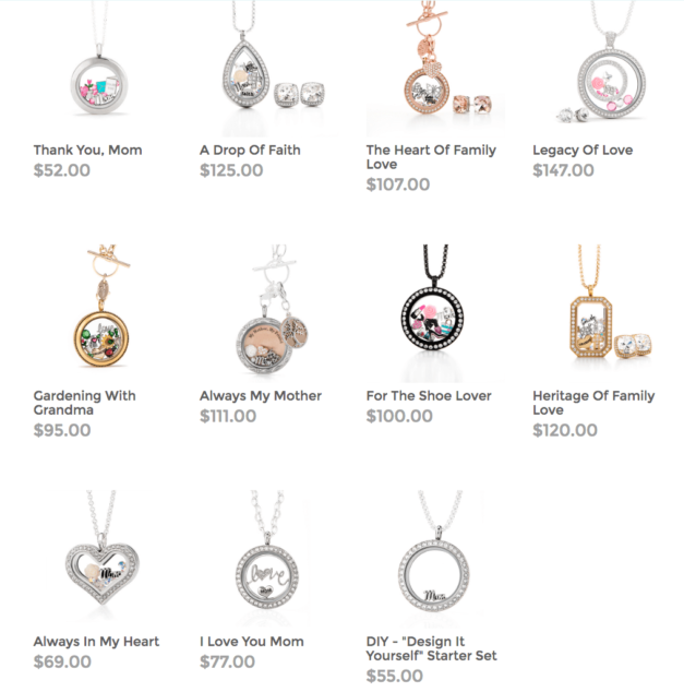 Looks for Her Mom Wife Girlfriend Origami Owl
