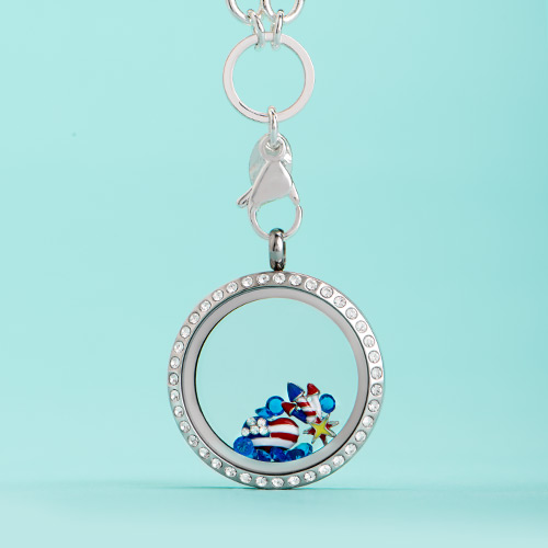 Stars and Stripes Forever Origami Owl Military 19