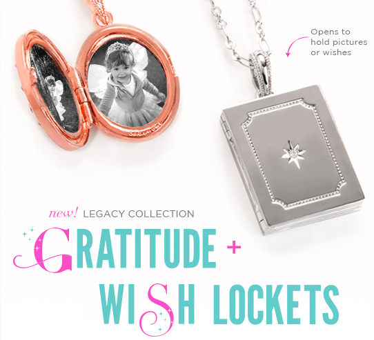Gratitude and Wish Lockets Origami Owl