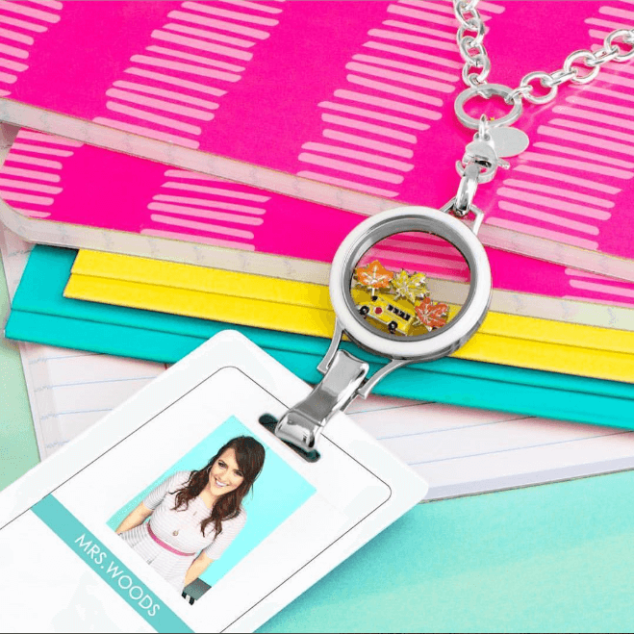 Origami Owl Teacher Back to School Special Locket