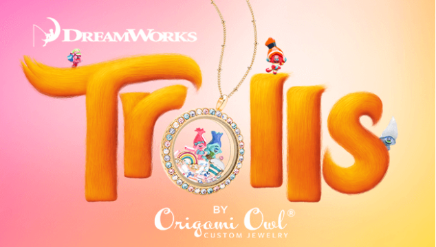 Trolls Collection – 1st Origami Owl Colab with DreamWorks!