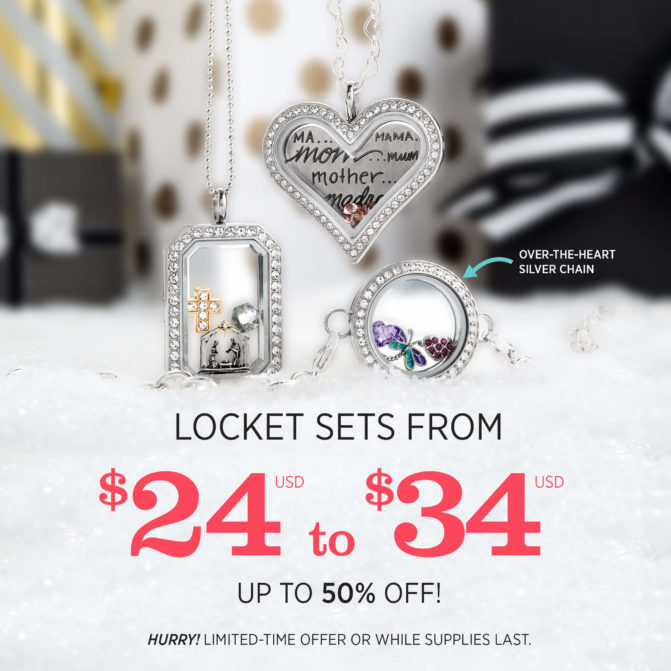 Locket Sets from $24