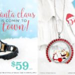 The Classic Santa Claus Movie by Dreamworks in a Locket by Origami Owl