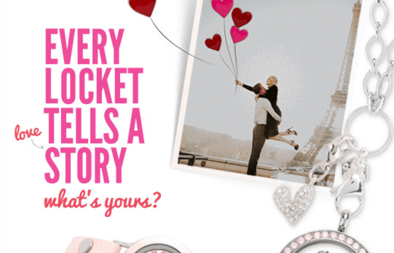 Our Love Story + Valentine's Day Collection 2017 by Origami Owl