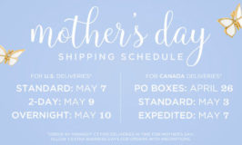 Origami Owl Mother's Day Shipping Schedule 2017