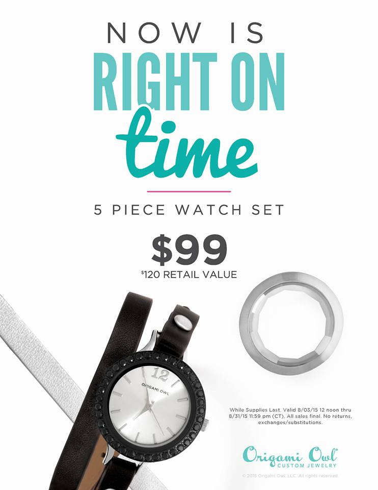 The Origami Owl Watch Special Origami Owl Lockets