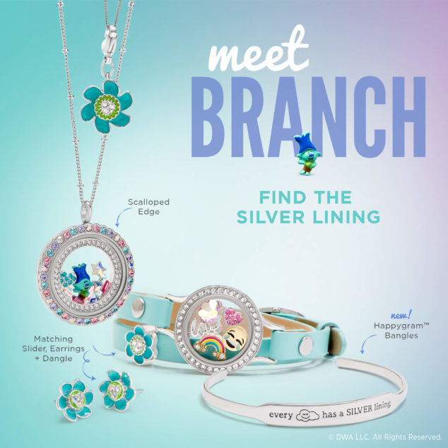 Trolls Collection 1st Origami Owl Colab With Dreamworks San
