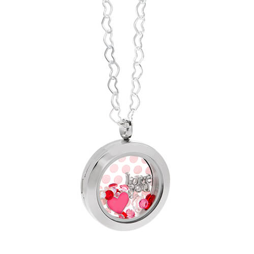 Origami Owl at Storied Charms: Origami Owl Heart Living Locket and ... | 500x500