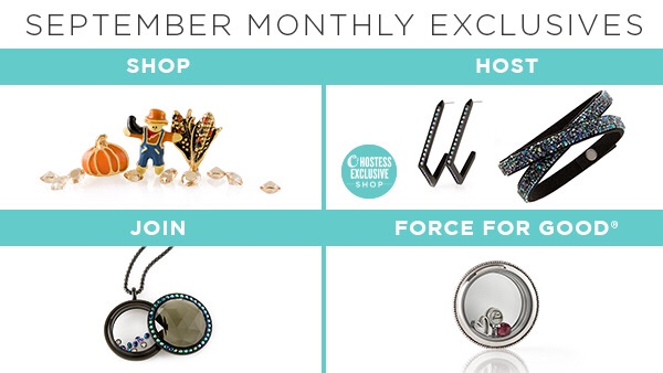 September 2018 Origami Owl Exclusives And Specials San Diego